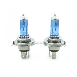 Carguard Set de 2 becuri Halogen H4 - 100/90W + 110% intensitate Alb Xenon Best CarHome