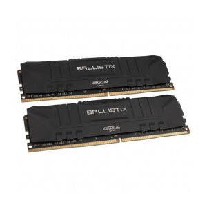 Crucial Ballistix 16GB Kit (2 x 8GB) DDR4-3600 Desktop Gaming Memory (Black) BL2K8G36C16U4B