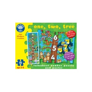 Orchard Toys Puzzle De Podea - Invatam Sa Numaram (30 Piese) - (276)