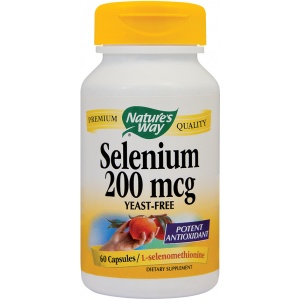 Natures Way Selenium 200mcg 60cps