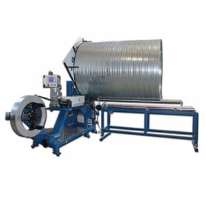 Sente Makina Linie productie tubulatura elicoidala SPIRO TUBE FORMER 100 - 1600 mm