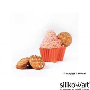 Silikomart 6 forme din silicon pentru briose - stea