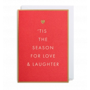 Lagom Design Felicitare - Tis The Season For Love and Laughter