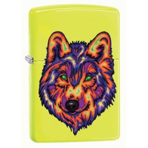 Zippo Neon Wolf  29639