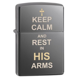 Zippo Keep Calm Design  29610
