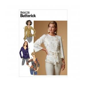 Butterick Tipar Bluze Femei B 6628