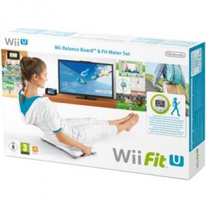 Nintendo Wii Fit U + Balance Board + Fit Meter