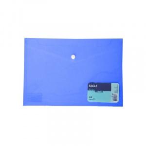 Eagle Mapa A4 plastic, capsa 13017, albastru