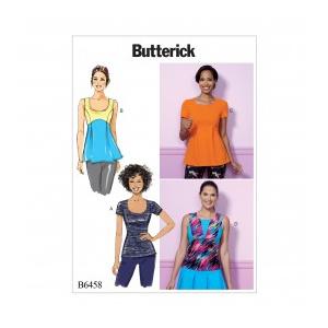 Butterick Tipar top B 6458