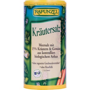 Rapunzel Sare cu plante 15% Bio 125g