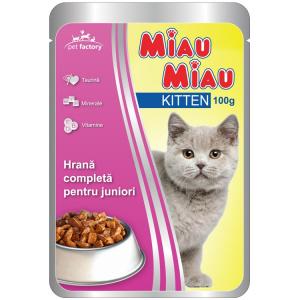 Desire Mancare umeda  , Miau Miau Kitten, Pui, 100g