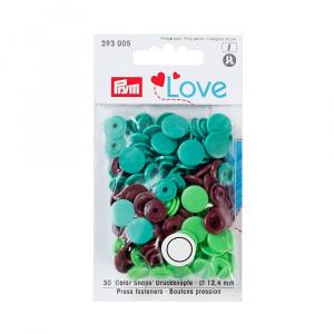 Prym Capse plastic/30 buc/ 12.4/ cod 393005, colectia Love 393005