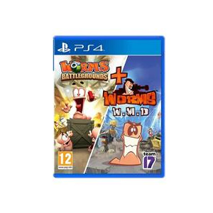 Worms Battlegrounds And Wmd Double Ps4