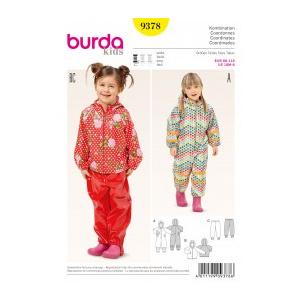 Burda Style Tipar combinatii 9378