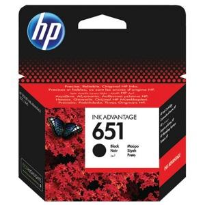 HP 651 Black Original Ink Advantage Cartridge (C2P10AE)