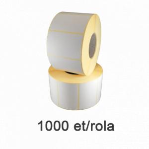 ZINTA Role etichete semilucioase 58x43mm, 1000 et./rola - 58X43X1000-SGP