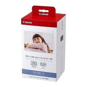 Canon Set Cartus + Hartie Color KP108IN, Original