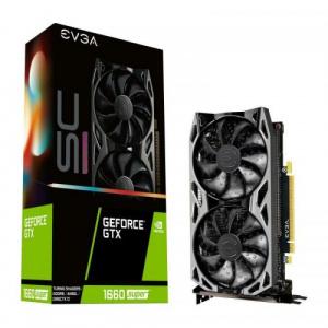EVGA GeForce GTX 1660 SUPER SC Ultra, 6GB, GDDR6, 192bit