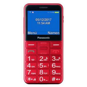 Panasonic Telefon Mobil KX-TU150EXR, Ecran 2.4inch (Rosu)