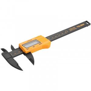 TOLSEN Subler digital fibra carbon, 0 - 150 mm