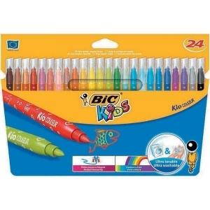 BIC Carioci 24 culori ultralavabile Kid Couleur 841800