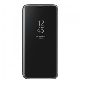 Samsung Clear View Standing Cover Galaxy S9 Black
