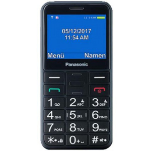 Panasonic Telefon Mobil KX-TU150EXB, Ecran 2.4inch (Negru)