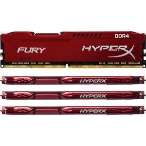 Kingston Fury Red 64GB DDR4 Quad Channel Kit (HX424C15FRK4/64)