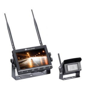 Midland Kit C1331 TRUCK GUARDIAN WIRELESS camera + monitor functie DVR, pentru camion