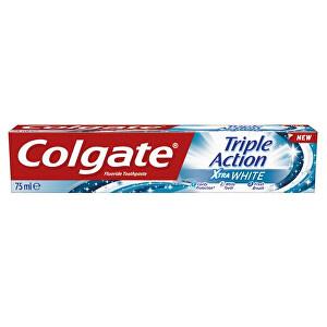 Colgate Pastă de dinți pentru albireTriple Action White 75 ml
