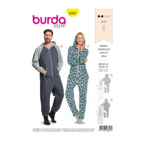 Burda Style Tipar pijama 6397