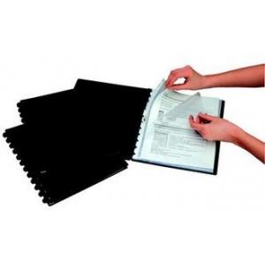 Aurora Dosar de prezentare cu 20 folii Adoc - coperta neagra 5825.700