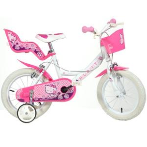 Dino Bikes Bicicleta pentru fetite Hello Kitty 16 inch