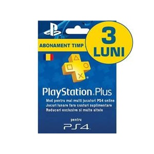 Sony Playstation Plus Subscription Card Abonament 3 Luni Ro