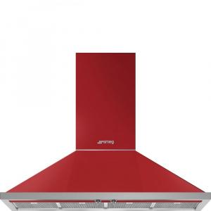SMEG Hota semineu Portofino KPF12RD, 120 cm, rosu