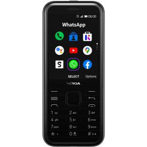 Nokia 8000 4G, Dual SIM, 4G, Onyx Black
