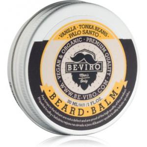 Be-Viro Vanilla, Palo Santo, Tonka Boby balsam pentru barba 30 ml