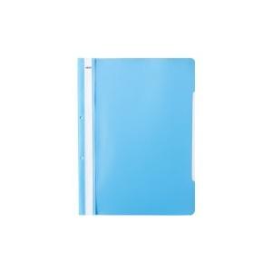 NOKI Dosar din plastic, cu sina si perforatii, albastru deschis