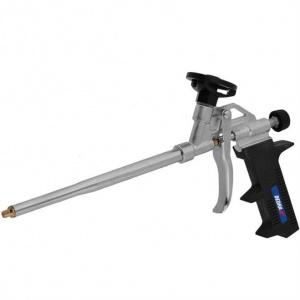 Dedra 1201-21 Pistol de montaj spuma din metal cu duza de alama