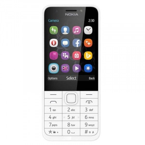 Nokia 230, Dual SIM, Argintiu