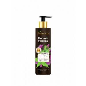 Bielenda Balsam reconditionant de Brusture + Urzica pentru par gras Botanic Formula, 250 ml