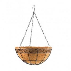 Palisad Ghiveci cocos suspendat 690108, diametru 30 cm, inaltime 480 mm