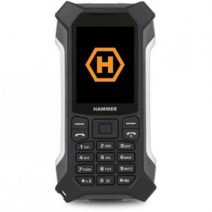 MyPhone HAMMER Patriot+, Dual Sim, 3G, Black-Silver