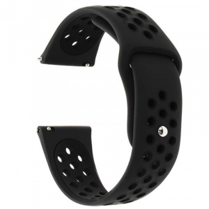 Very Dream Curea silicon,  Huawei Watch GT 2 42mm, Negru