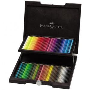 Faber-Castell Cutie Lemn Polychromos Desen Nou 72 Buc