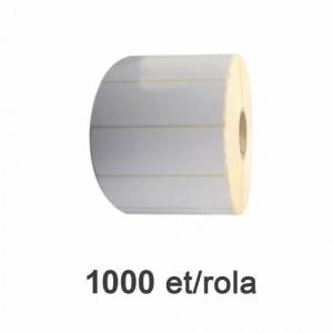 ZINTA Role etichete termice 100x30mm, 1000 et./rola - 100X30X1000-TH