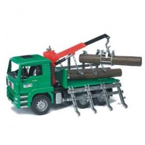 Bruder Camion Transport cu macara MAN TGA (2769)