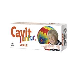Biofarm Cavit Junior Vanilie 20 tablete