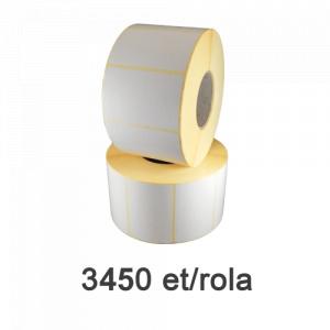 ZINTA Role etichete termice 80x40mm, 3450 et./rola - 80X40X3450-TH