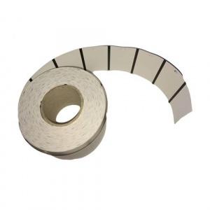 ZINTA Role etichete semilucioase de raft 57x35mm, 135g/mp, 1000 et./rola - 57X35X1000-TAGSG-BM